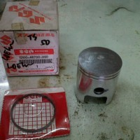 Seher / Piston Kit Suzuki TS 125 Asli Japan