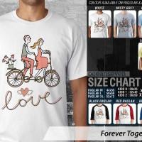 Forever Together 6  ~ Tshirt/Kaos/Raglan/Anak Oceanseven