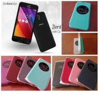 Leather Case Flipshell View Asus Zenfone GO 4,5 inchi