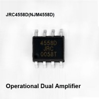 JRC 4558 NJM4558D JRC4558D 4558 SMD 4558D Operational Amplifier AF65