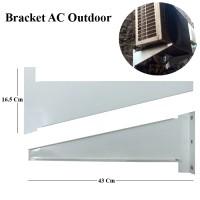 Bracket / Dudukan AC Outdoor Kecil 1/2 - 1 PK