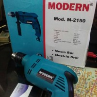 Bor Listrik Modern M-2150 13mm Beton Kayu Besi