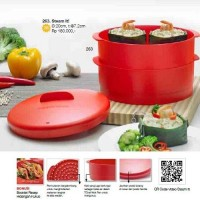 Tupperware Steam It / Steam Pengukus Makanan