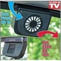 AutoFan Solar Car Window Fan Kipas Angin Otomatis Solar Energi Ac Air