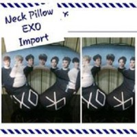 EXO - Neck Pillow Member Foto