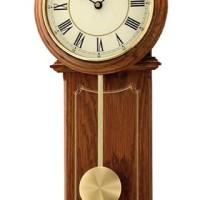 SEIKO CLOCK QXC213 Wooden Pendulum Jam Dinding