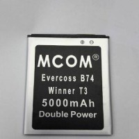 baterai cross/evercoss B74 winner T3 double power merk mcon