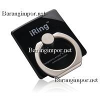 iRing AAUXX BLACK Pegangan Hp / Sandaran Hp ( FREE HOOK )