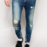 Ripped Jeans Pria Exclusive