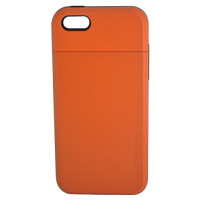 Spigen Slim Armor Case Card Slider For Iphone 5 - Oranye