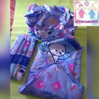 harga Set tas bayi, selimut bayi topi, dan gendongan bayi samping Tokopedia.com