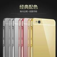 Case Bumper Mirror Xiaomi Redmi 3 3s Back Case Cover Door Casing 3 3s