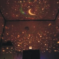 Jual Lampu Tidur Proyektor Bulan Bintang ( Tanpa Musik , Cocok Buat Tidur ) Murah