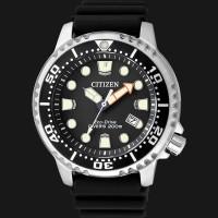 Citizen BN0150-10E Eco Drive Promaster Divers 200M Black Dial Black Ru
