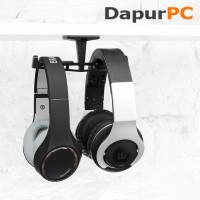 Gantungan Headphone - Brainwavz Truss Desk Dual Headphone Hanger