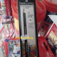 Pensil 7B FABER CASTELL (Pensil Gambar) [1 Lusin Isi 12pcs]