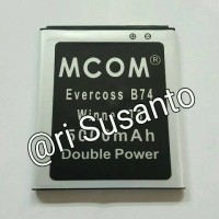 Baterai M-COM for Cross EverCross B74 / Winner T3 Double Power 5000mAh