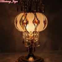 Lampu Meja Kristal Minimalis [Free Bohlam LED]
