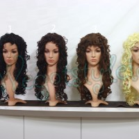 Wig L +- 60cm / Keriting Krisdayanti / Cosplay / Pesta / Warna / Cur