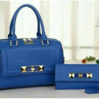 harga tas impor fashion korea branded 2in1 charles and Keith 2060 Tokopedia.com