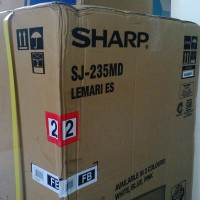 KULKAS SHARP KIREI SJ 235 MD MURAH