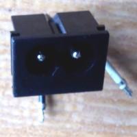 Socket AC angka 8 hitam