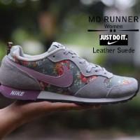Sepatu Kets Wanita ( Nike Md Runner Leather Suede Women ) Murah NW 3