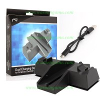 DOBE PS4 Dual Charging Dock with 2 Cooling Fan