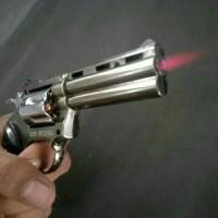 harga Korek Api Gas Pistol REVOLVER Magnum 357 Besar Korek Gas Unik Tokopedia.com