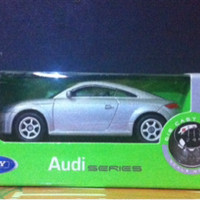 Welly Audi TT (Silver)