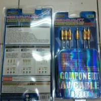 Kabel Komponen Wii / Component AV Cable 8feet