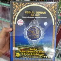 VCD BOXSET AL QURAN 30 JUZZ (+TERJEMAHAN) SYAIKH ABDURRAHMAN AS SUDAIS