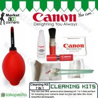 Optical Cleaning Kit Canon 7 in 1 for Camera