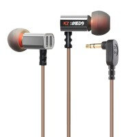 Knowledge Zenith Moving Coil In-Ear Earphones 3.5mm with Mic - KZ-ED9