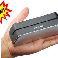 MSR X6 Smallest USB-Powered Magnetic Card Reader Writer Encoder