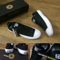 Sepatu Converse All Star Chuck Taylor 2 / CT II Black Hitam