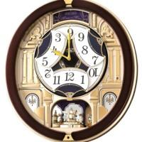 SEIKO CLOCK QXM901 Melodies In Motion Musical Rotating Pendulum