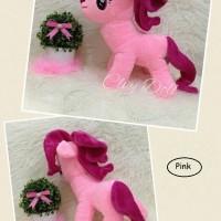 harga Boneka Kuda Poni - My Little Pony Ukuran L Lucu, Imut, Murah Tokopedia.com