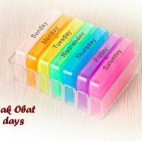 PROMO Tempat Obat Harian / Medicine Box A Week / Drug Storage