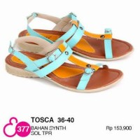 Sandal Flat Wanita Garsel E 377