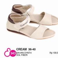 Sandal Flat Wanita Garsel E 343