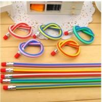 Pensil Flexible Keren / Pensil Lentur Ajaib / Pensil Lipat Ajaib