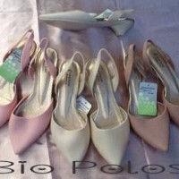 Sepatu Sendal Karet Jelly Shoes Low Heels Pendek BIO POLOS Murah