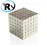 Buckycubes Magnetic Block Toys 216pcs 4mm - Silver