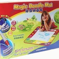 Magic Doodle Mat matras karpet papan tulis lipat anak coret gambar