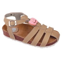 Sandal Anak Perempuan Warna Coklat Kalem Cantik - Sandal Anak ORI