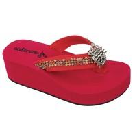 Sandal Anaka Perempuan Warna Merah, JR - Sandal Anak ORI