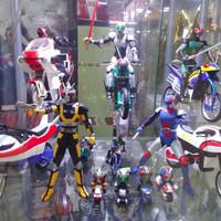 SHF Kamen Rider Black Family Renewal Full Set BIB