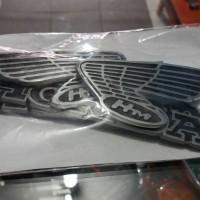 harga Emblem Tangki Honda CB100 gelatik Tokopedia.com
