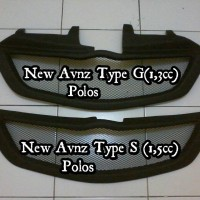 Grill Fiber New Avanza Type S / G Polos + Lis